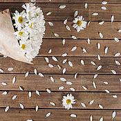 Фотофоны ручной работы. Ярмарка Мастеров - ручная работа Фотофон Цветы ромашки 40х60 см. Handmade.