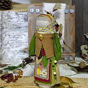 "Куклы и игрушки handmade. Livemaster - original item Doll - Charm ""Autumn Leaves"". Handmade."