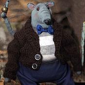 Stuffed Toys handmade. Livemaster - original item Pot-bellied rats. Rat symbol 2020. Handmade.