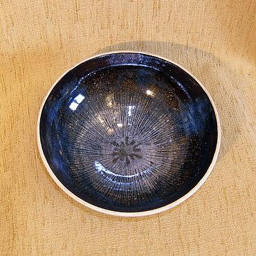 """Посуда ручной работы. Ярмарка Мастеров - ручная работа Салатник, блюдо, ваза """"космос"""". Handmade."""