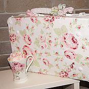 Свадебный салон ручной работы. Ярмарка Мастеров - ручная работа Шебби-чемоданчик Soft Roses. Handmade.