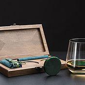 """Подарочные боксы ручной работы. Ярмарка Мастеров - ручная работа Подарочный набор для мужчин """"DIO DISK"""". Handmade."""
