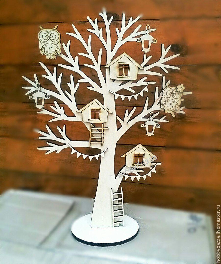 Как сделать своими руками объемное дерево на стену 960
