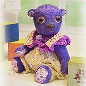 Куклы и игрушки ручной работы. Ярмарка Мастеров - ручная работа Бобочка мишка тедди. Handmade.
