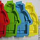 Другие виды рукоделия ручной работы. Силиконовый молд Лего Человечек (Lego Men). WORKSHOP Снежана Ситникова. Ярмарка Мастеров.