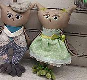 Куклы и игрушки ручной работы. Ярмарка Мастеров - ручная работа Пара Семён да Варвара. Handmade.