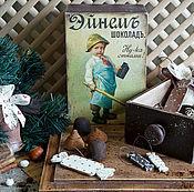 Подарки к праздникам ручной работы. Ярмарка Мастеров - ручная работа Три шоколада - елочные игрушки. Handmade.