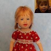Куклы и игрушки ручной работы. Ярмарка Мастеров - ручная работа портретик. Handmade.