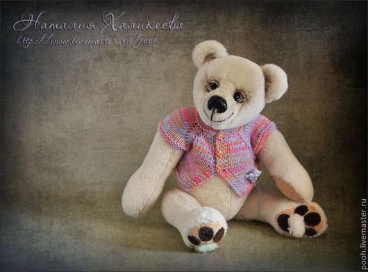 """Мишки Тедди ручной работы. Ярмарка Мастеров - ручная работа. Купить Интерьерный медведь """"Белый"""". Handmade. Белый, коллекционные медведи"""
