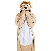 Suits handmade. Livemaster - original item Costume kigurumi Dog Barbos BARBOS FUNKY KIGU. Handmade.