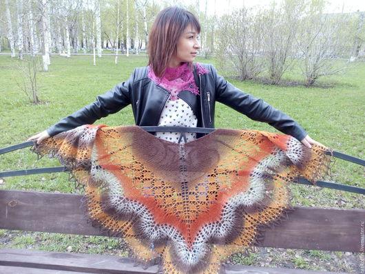 Валерия,спасибо за демонстрацию шали!