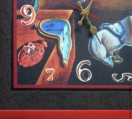 """Часы для дома ручной работы. Ярмарка Мастеров - ручная работа. Купить """"ГИБКОЕ ВРЕМЯ С ПАСПАРТУ"""" из песка часы авторские. Handmade."""