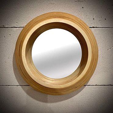 Для дома и интерьера ручной работы. Ярмарка Мастеров - ручная работа Круглое зеркало, модель 77.. Handmade.