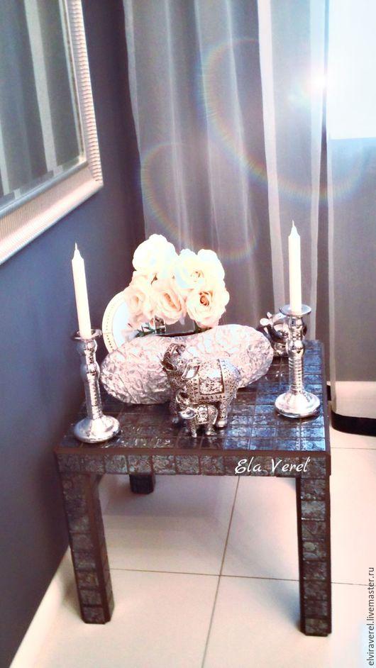 Мебель ручной работы. Ярмарка Мастеров - ручная работа. Купить Интерьерный  столик '' ГУДВИН ''. Handmade. Комбинированный