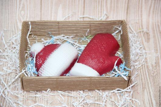 """Персональные подарки ручной работы. Ярмарка Мастеров - ручная работа. Купить """"тепло зимой"""". Handmade. Комбинированный, мыло, пигменты косметические"""