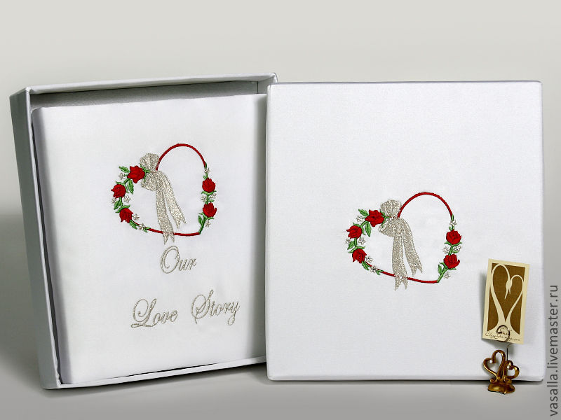 Wedding photo album in box, Photo albums, Moscow,  Фото №1