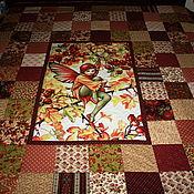 """Для дома и интерьера ручной работы. Ярмарка Мастеров - ручная работа """"Сказочное"""" бордо. Handmade."""