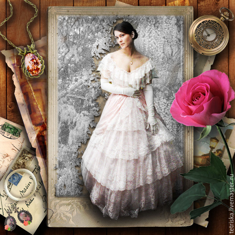 винтажная открытка, Фото-работы, Санкт-Петербург, Фото №1