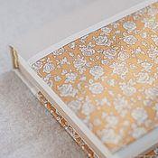 Канцелярские товары handmade. Livemaster - original item Notepad with fabric cover / A5 / Sketchbook / Diary. Handmade.