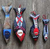 """Куклы и игрушки ручной работы. Ярмарка Мастеров - ручная работа Текстильная игрушка """"Селедка"""". Handmade."""