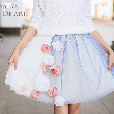"""Одежда ручной работы. Ярмарка Мастеров - ручная работа Фатиновая юбочка """"La Vie En Rose"""". Handmade."""