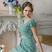 """Одежда ручной работы. Ярмарка Мастеров - ручная работа """"Французский поцелуй"""", женское платье. Handmade."""