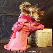 """Для домашних животных, ручной работы. Ярмарка Мастеров - ручная работа Дублёнка для йорка """"Luxury"""". Handmade."""