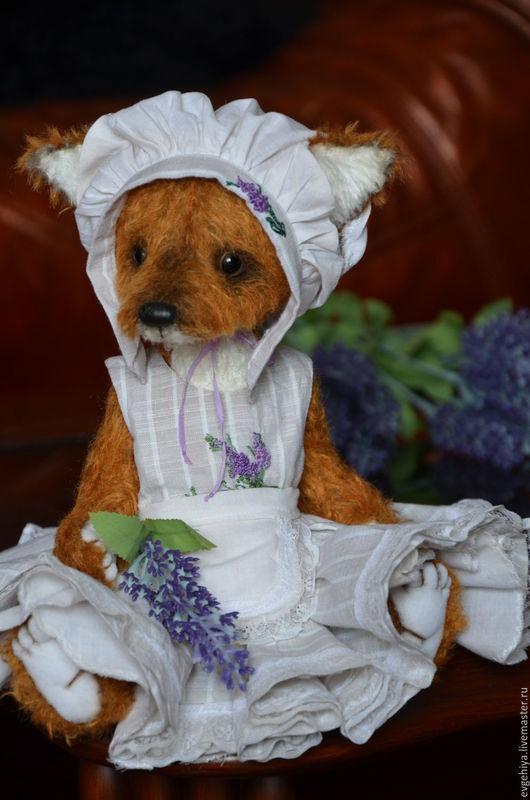 Мишки Тедди ручной работы. Ярмарка Мастеров - ручная работа. Купить лисичка Агата. Handmade. Рыжий, друзья мишек тедди