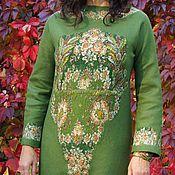 Одежда handmade. Livemaster - original item dress-autumn bouquet. Handmade.