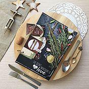 "Канцелярские товары ручной работы. Ярмарка Мастеров - ручная работа Кулинарная книга ""Мои рецепты""_Love. Handmade."