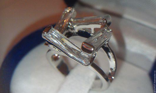 Кольца ручной работы. Ярмарка Мастеров - ручная работа. Купить Кольцо Шанталь белый топаз. Handmade. Красивое кольцо, топаз
