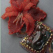 """Украшения ручной работы. Ярмарка Мастеров - ручная работа Колье """"Lizard"""". Handmade."""