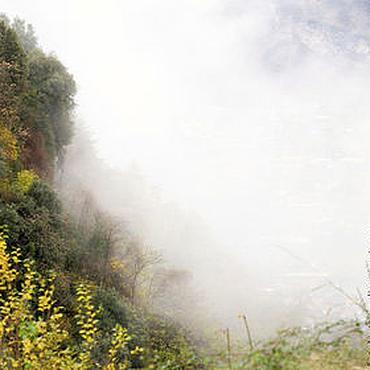 Картины и панно ручной работы. Ярмарка Мастеров - ручная работа Фотокартина Заблудившееся облако (горы, Италия). Handmade.