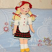 Куклы и игрушки ручной работы. Ярмарка Мастеров - ручная работа Кукла Красная Шапочка. Handmade.