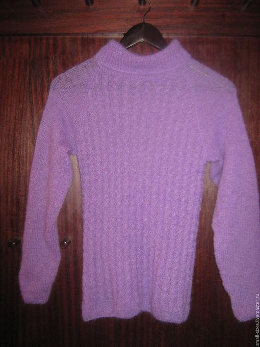 Кофты и свитера ручной работы. Ярмарка Мастеров - ручная работа. Купить свитер-водолазка Лаванда. Handmade. Сиреневый, свитер
