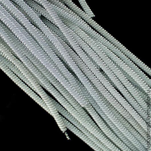 Для украшений ручной работы. Ярмарка Мастеров - ручная работа. Купить Канитель витая 3мм, цвет Серебро, Индия. Handmade.