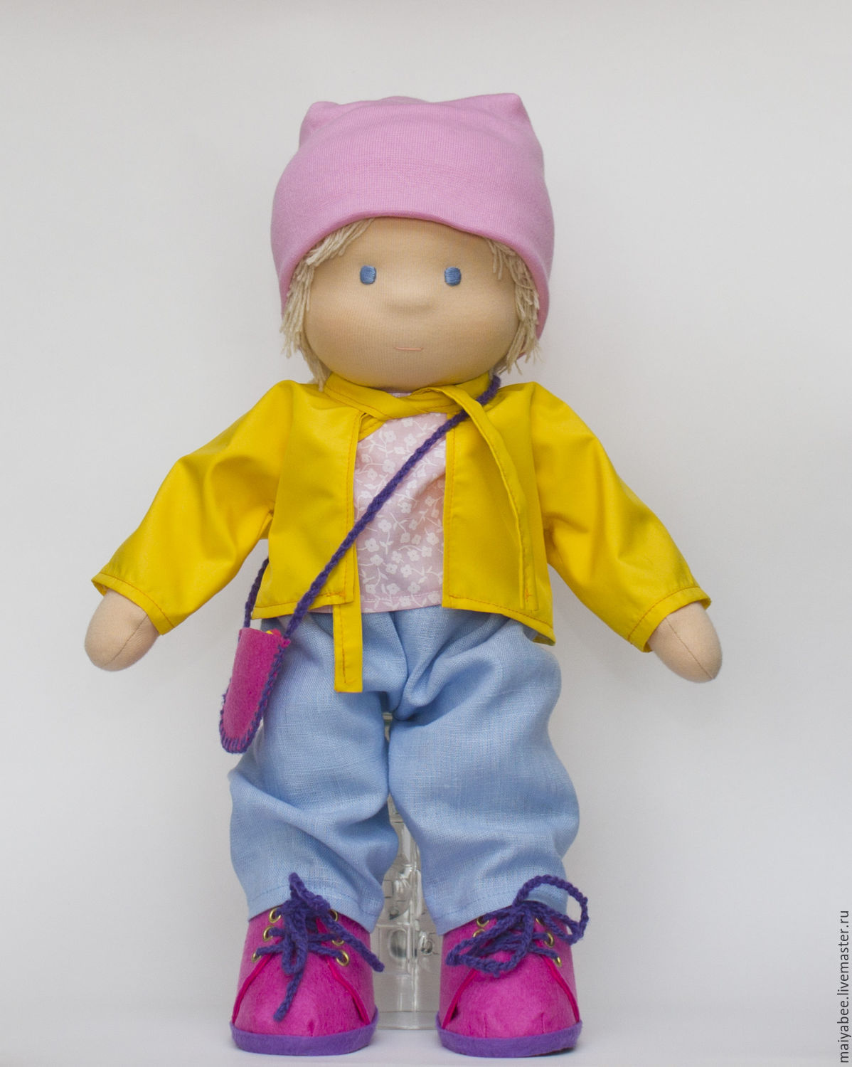 Doll for Maria, 42 cm, Stuffed Toys, Moscow,  Фото №1