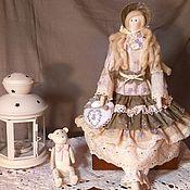 Куклы и игрушки ручной работы. Ярмарка Мастеров - ручная работа Тильда в стиле бохо нежнейшая Вивьен. Handmade.