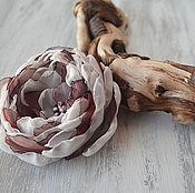 Украшения handmade. Livemaster - original item Brooch made of fabric Snegirek. Handmade.