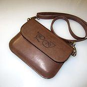 Сумки и аксессуары handmade. Livemaster - original item A small bag with the initials. Handbag envelope clutch bag.. Handmade.