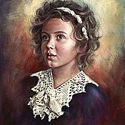 Картины и панно ручной работы. Ярмарка Мастеров - ручная работа Цифровой портрет. Детский портрет. Handmade.