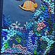 """Блокноты ручной работы. Ярмарка Мастеров - ручная работа. Купить Блокнот """"Морские глубины"""". Handmade. Море, подводный мир"""