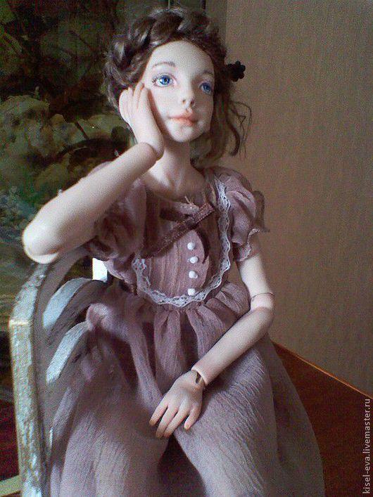 """Коллекционные куклы ручной работы. Ярмарка Мастеров - ручная работа. Купить Шарнирная  кукла """"Ариэтти"""". Handmade. Бежевый, полимерная глина"""