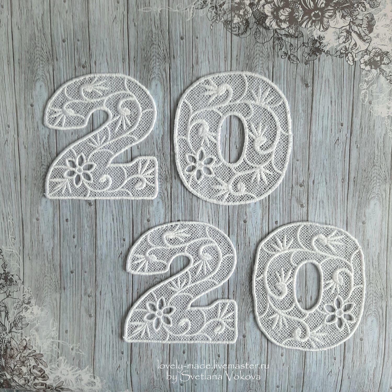 Figures white lace for interior design, weddings, anniversaries, Figurine, Chelyabinsk,  Фото №1