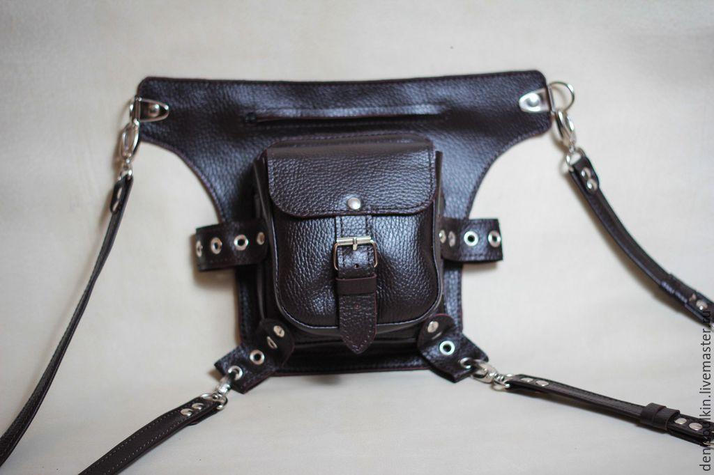 Bag on the belt ' Biker', Waist Bag, Penza,  Фото №1