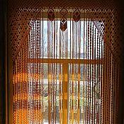 """Для дома и интерьера ручной работы. Ярмарка Мастеров - ручная работа Шторы """"Солнечный дождь"""". Handmade."""