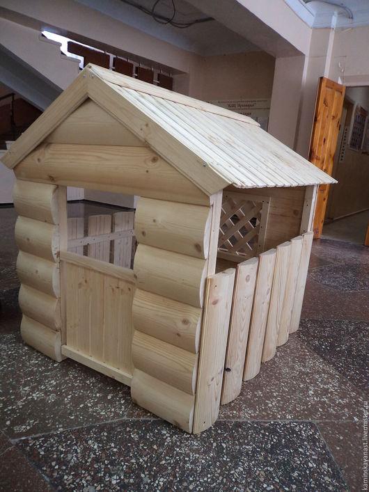 Экстерьер и дача ручной работы. Ярмарка Мастеров - ручная работа. Купить Игровой домик. Handmade. Бежевый, домики, Игровой домик