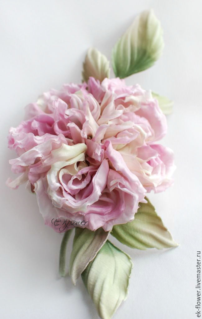 Fabric flowers silk flowers rose veronica shop online on silk flowers handmade fabric flowers silk flowers rose veronica mightylinksfo