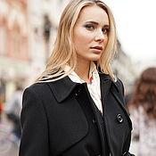 Одежда handmade. Livemaster - original item Trench coat black. Handmade.
