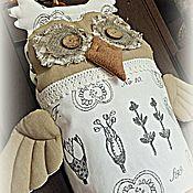 Для дома и интерьера ручной работы. Ярмарка Мастеров - ручная работа сова BOTANIKA  пакетница. Handmade.